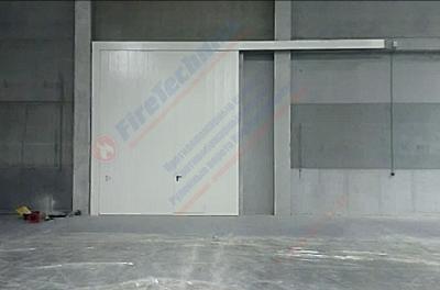 Противопожарные откатные ворота FireTechnics в PNK ПАРК СТУПИНО