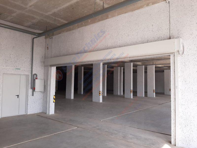 Противопожарные шторы FireTechnics EI120, без орошения водой, паркинг